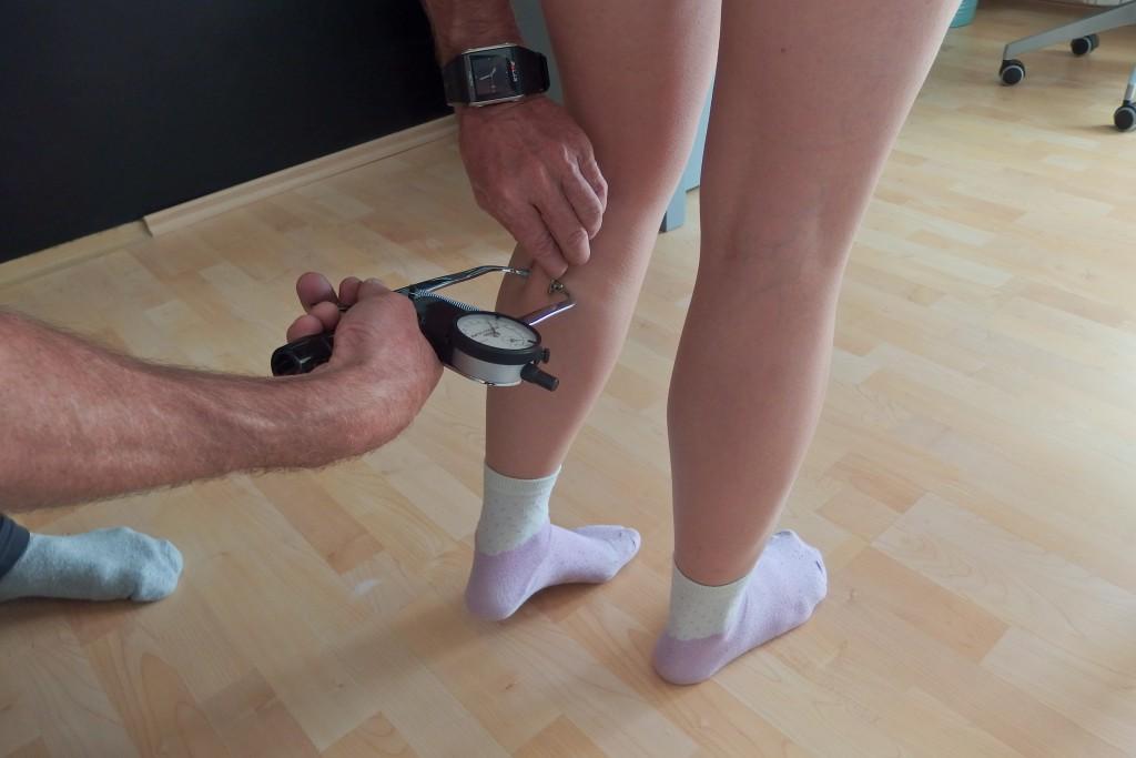 měření podkožních řas