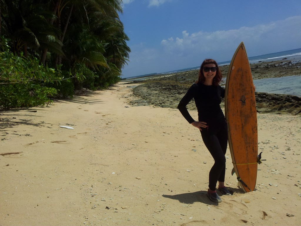 jóga a surfování