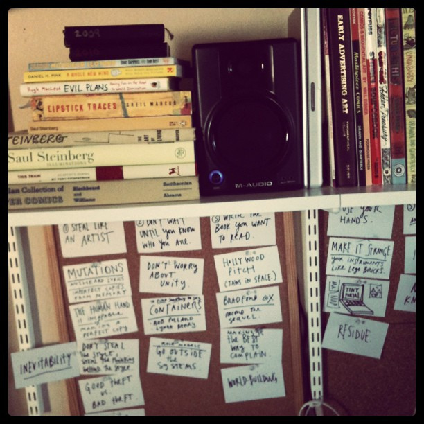 Kraď jako umělec kniha