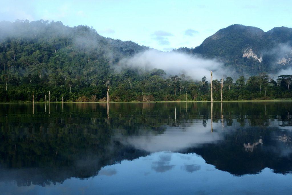 Khao Sok národný park Thajsko