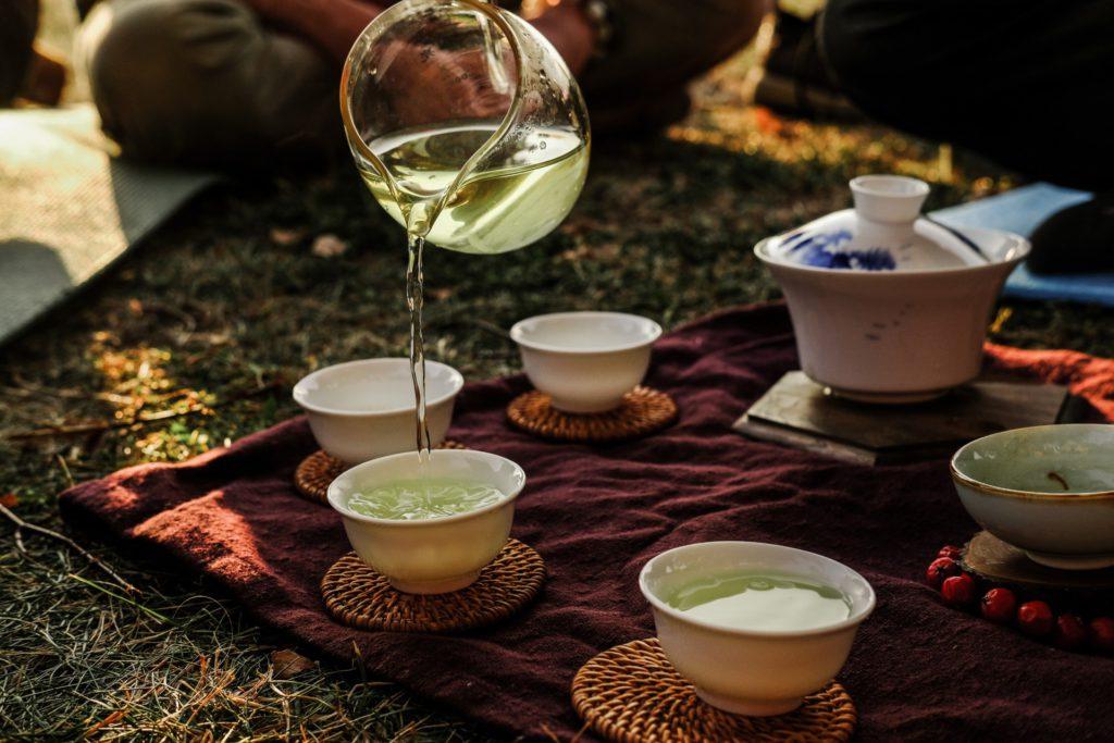 obřad pití čaje