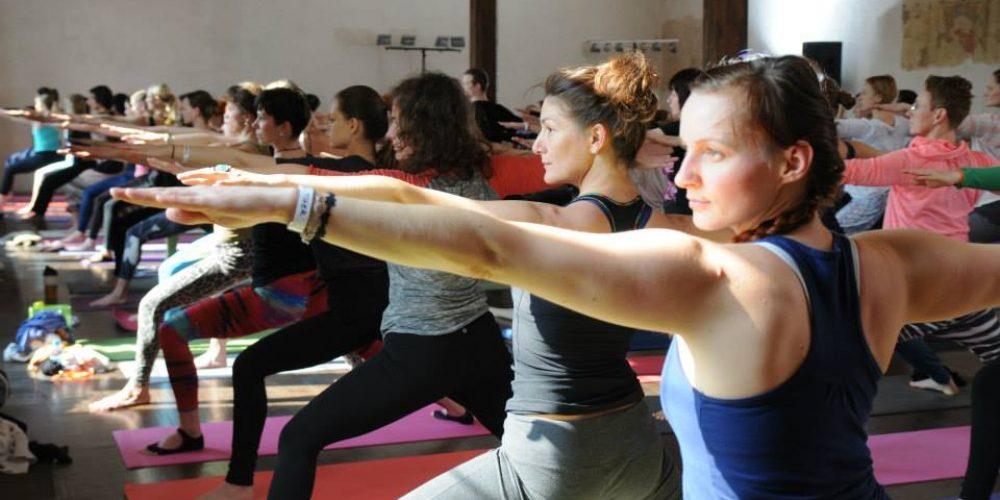 Mé zážitky z dvou největších jógových akcí v ČR: Prague Spirit Festival a Reebok Yoga Sensation